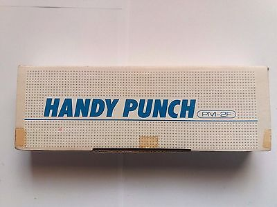 Rare  Boxed Silver Reed Knitting Machine Pm-2F Fine Gauge 3.6Mm Handy Punch