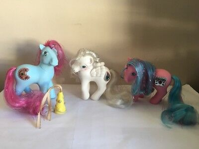 VTG My Little Pony G1 Princess Ruby primrose Sapphire Tiffany pearl Job Lot 1