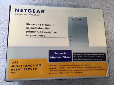 Netgear USB Multifunction Print Server PS121