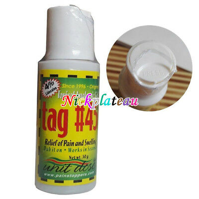 TAG 45 Topical Anesthetic Gel Eyebrow Numbing Midway Tattooing Piercing Waxing
