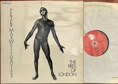 PETER MAXWELL DAVIES Veselli Icones The Fires Of London LP Ken Russell LP NM/EX