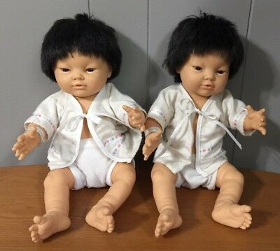 BERJUSA NEWBORN BABY BOY AND GIRL TWINS Anatomically Correct