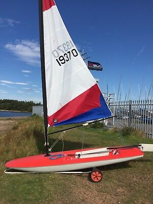 TOPPER SAILING DINGHY with launch trailer and cover