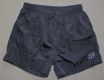 Echt Mens Fitness Gym Bodybuilding Shorts Mens Medium Black