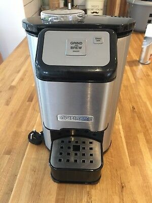 Cuisinart Grind and Brew One Cup coffee machine