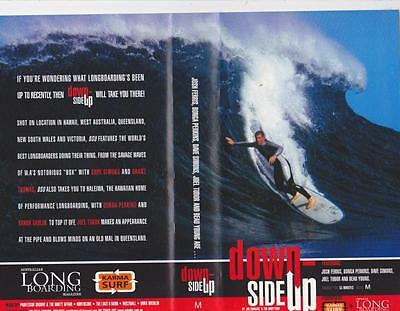 Surfing Down Side Up   Vhs Video Pal A Rare Find