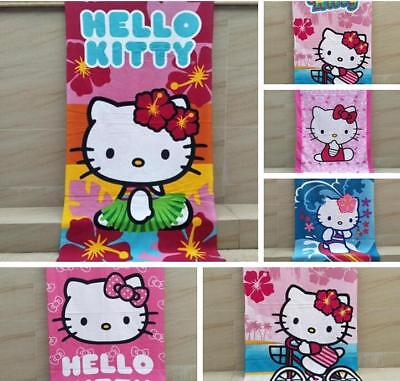 Hello kitty soft happy towel beach swimming towels bath towel lot sytle new