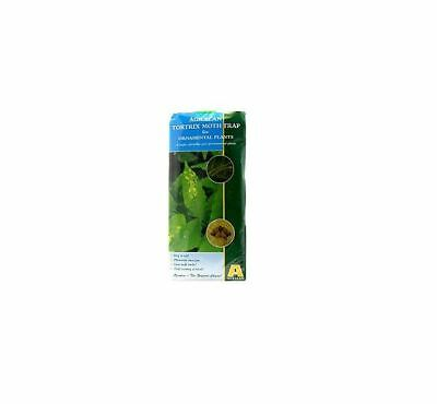 Tortrix Moth Pheromone Trap - Reusable Outdoor Trap, Refills Available
