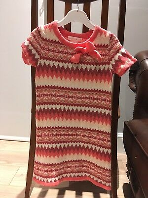 Christmas Jumper Dress 3-4 Years