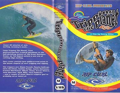 Surfing Tripping The Planet  Vhs Video Pal  Rare