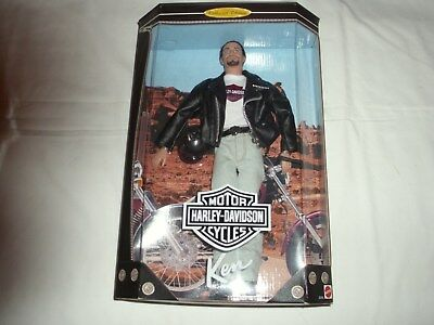 Harley Davidson Ken, Barbie Collectibles, Collector Edition 1998 New in Box