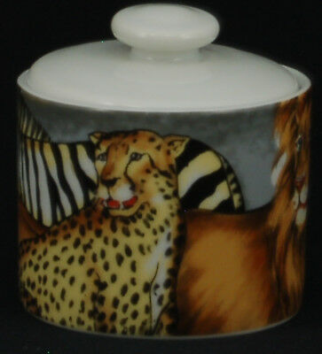 Sakura La Menagerie Sugar Bowl and Lid