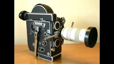 Bolex H16 RX4 Camera With Zoom Lens