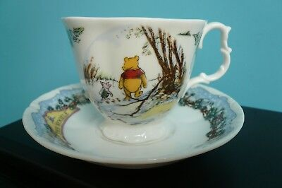 "Royal Doulton Winnie The Pooh ""The Woozle"" cup and saucer"