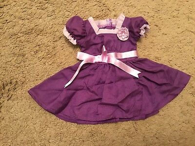 American Girl Emily Holiday Dress Purple Molly Friend