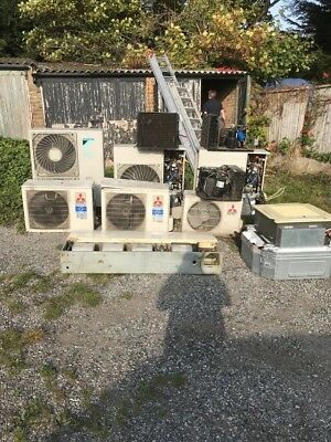 Mitsubishi Daikin Just Coolers AC Air Conditioning job lot condensers fan coil
