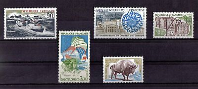 Lot De Timbres N° 1791/1792/1793/1794/1795 Neuf**