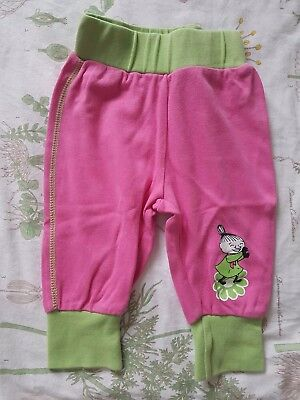 Moomin Baby Girls Little My Pink Trousers (Size 62/ 3 - 6 Months)