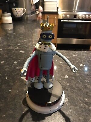 Futurama Series 5 Super King Bender Figure - Rare - Toynami