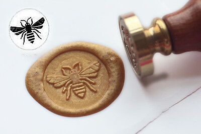 Wax Seal Stamp Bee Sealing Wax Stamp Wedding Invitation Stamp S1236