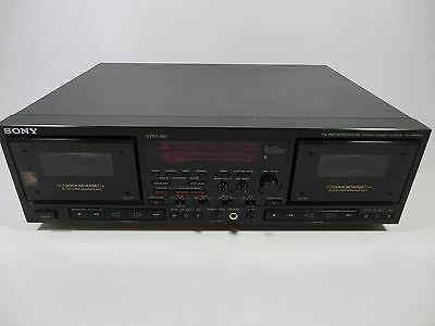 Sony TC-WR870 HX Pro Double Stereo Cassette Tape Deck - Twin Player Recorder