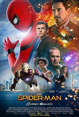 Spiderman Homecoming Poster SPHC03 POSTER PRINT A3 A4 BUY 2 GET  1 FREE