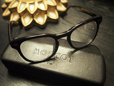 MOSCOT Original GELT Size Large/49 Hardly worn with case NEW 299 $