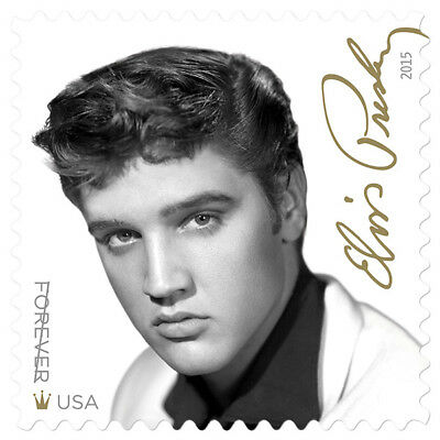 New USPS Elvis Presley Forever Stamp Sheet of 16