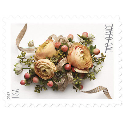 USPS New Celebration Corsage pane of 20