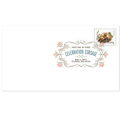 USPS New Celebration Corsage Digital Color Postmark