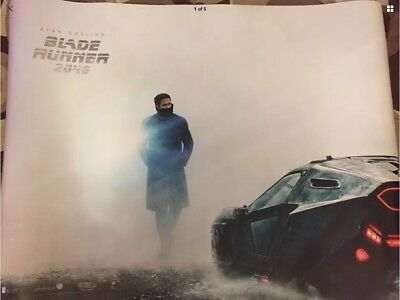"Blade Runner 2049 (2017) Original Cinema Quad Poster 40x30""  UK , Ryan Gosling"