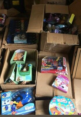 Wholesale job lot parcel mixed branded toys damaged packaging