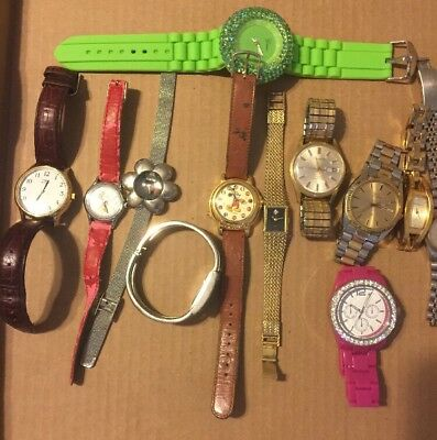 Watch Lot AS IS 12 Watches Pre Owned