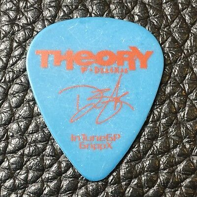 Guitar Pick - Theory Of A Deadman - Real Tour Guitar Pick