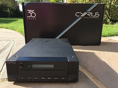 Cyrus CD 8x CD Player - Brushed Black - Recently Serviced