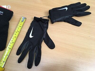 Nike Child's Running / Sports Gloves Thin Small Black New