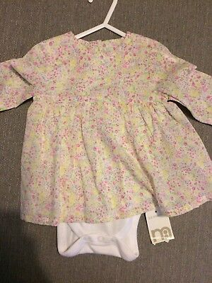 Baby Girl Floral Dress 3-6 Months Mothercare
