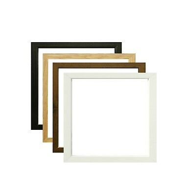 Square Photo Frames Picture Frames Poster Size Frames Black Oak White & Walnut