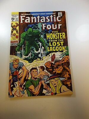 Fantastic Four #97 FN condition Huge auction going on now!