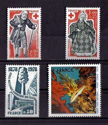 Lot De Timbres N° 1959/1960/1984/2005 Neuf**