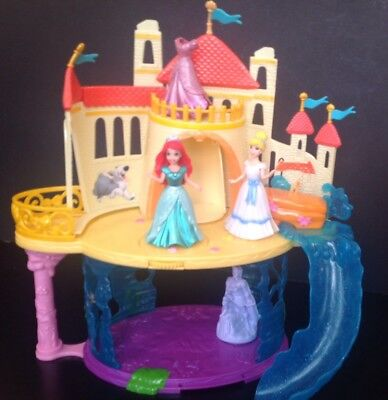 Magiclip Little Mermaid Palace Two Figues