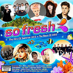 Various – So Fresh: The Hits Of Summer 2013 + The Best Of 2012 2CD NEW & SEALED