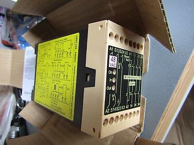 ABB Jokab JSBR4 Safety Relay, Dual Channel, 48 V ac 4 Safety Category A1 7332420