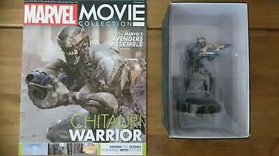 NOUVEAU NO Mag Chitauri Warrior Eaglemoss Marvel Movie Collection Figure