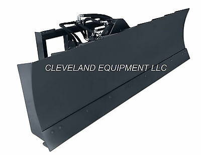"NEW 72"" 6-WAY DOZER BLADE ATTACHMENT Skid Steer Track Loader Mustang JCB ASV CAT"