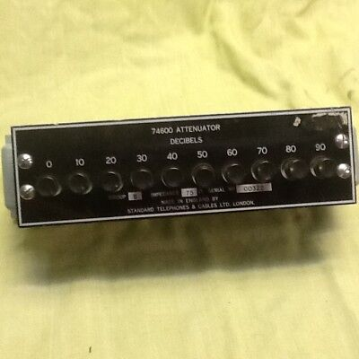 Vintage collectable attenuator STC