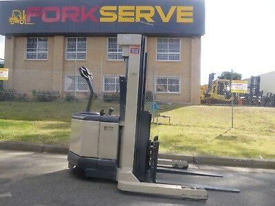 Refurbished Crown Walk Behind Reach Truck - Near new Battery with Warranty  !!!