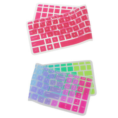 2x Silicone Keyboard SKin Cover Guard Film Protector for HP Pavilion 15inch