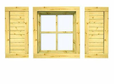 2 x 44 mm holz einzelfenster ca 88 5x99 cm 2 wahl fenster gartenhaus ger tehaus eur 2 50. Black Bedroom Furniture Sets. Home Design Ideas