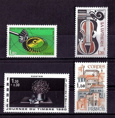 Lot De Timbres N° 2066/2072/2078/2081 Neuf**